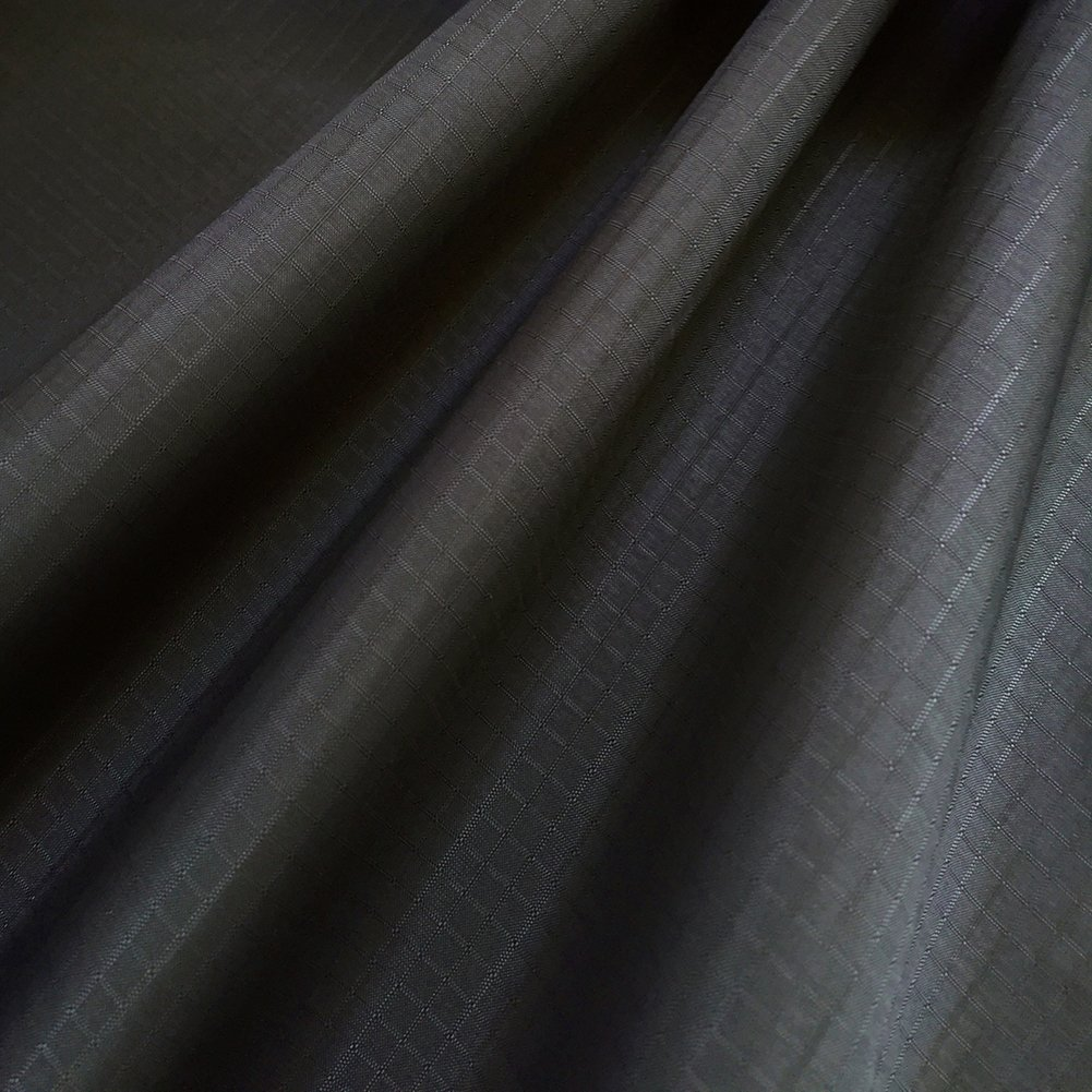 "EMMAKITES Iron Gray Ripstop Nylon Fabric 60""x36""(WxL) 48g (Sq M) of Water Repellent Dustproof Airtight PU Coating - Excellent Fabric for Kites Inflatable Skydancer Flag Tarp Cover Tent Stuff Sack"