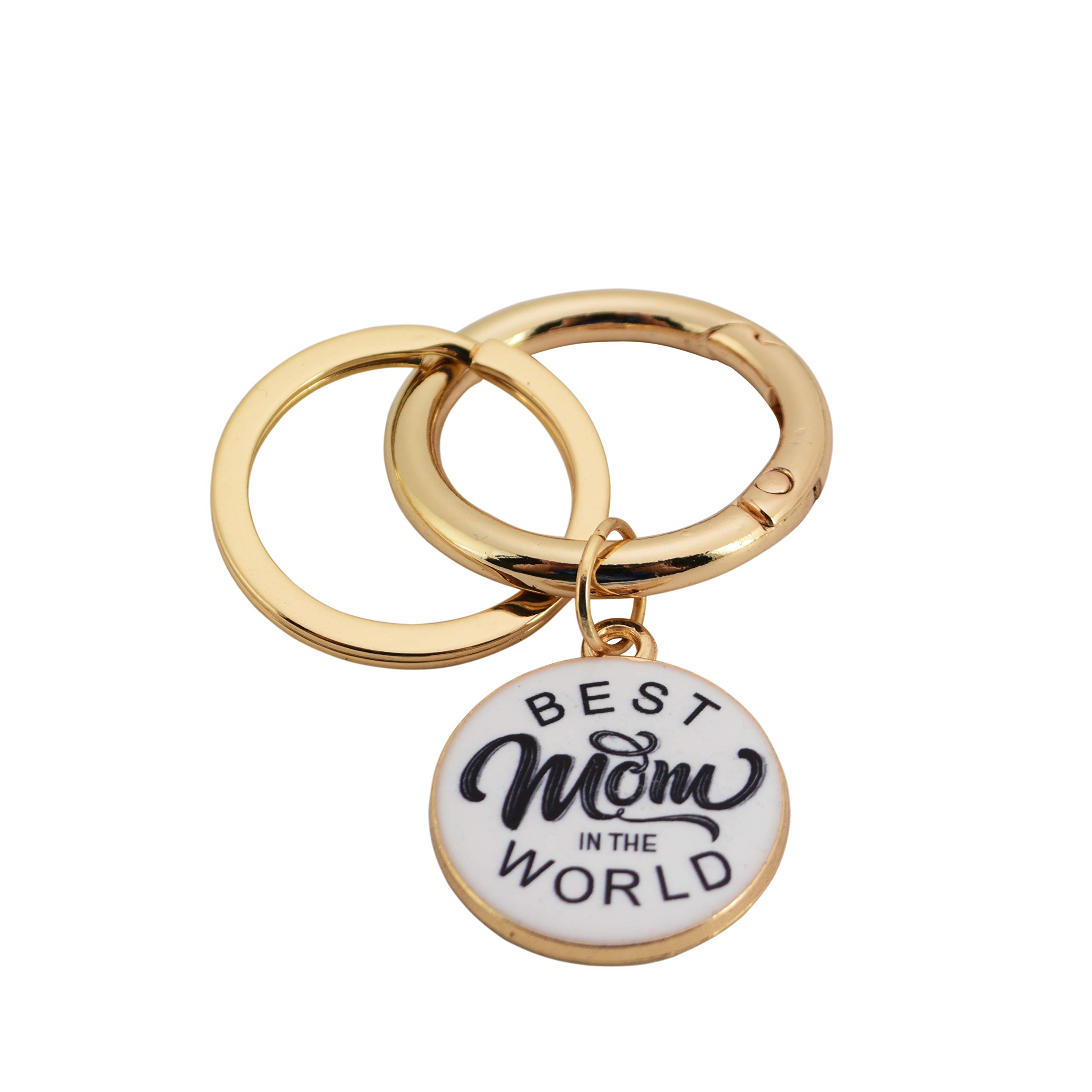 Coolcos Keychain Nana Personalize Best Mom keyring New Mother Gift New Born Baby key Chain Gifts for Mimi, Grandma, Memaw