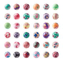 Craftdady 200Pcs 10mm Polymer Clay Round Ball Spacer Beads Mixed Colors for Jewelry Making