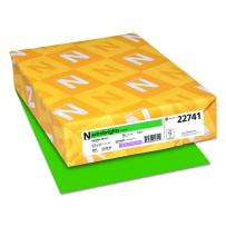 "Astrobrights Colored Cardstock, 8.5"" x 11"", 65 lb / 176 GSM, Gamma Green, 250 Sheets"
