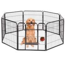 "BestPet Hammertone Finish 40"" Heavy Duty Pet Playpen Dog Exercise Pen Cat Fence S"