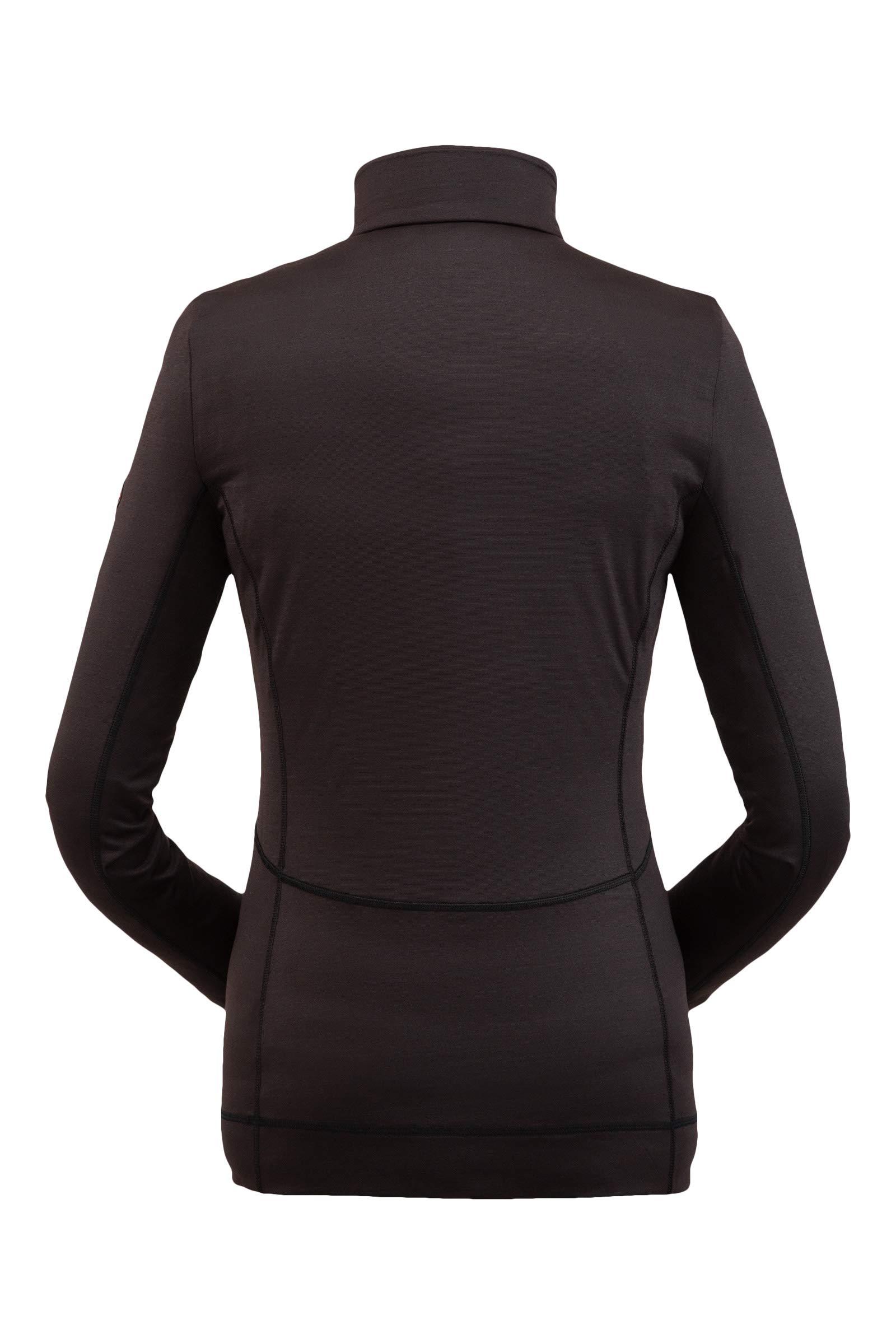 Spyder Women's Savona Zip T-Neck – Ladies Pullover Long Sleeve Active Shirt