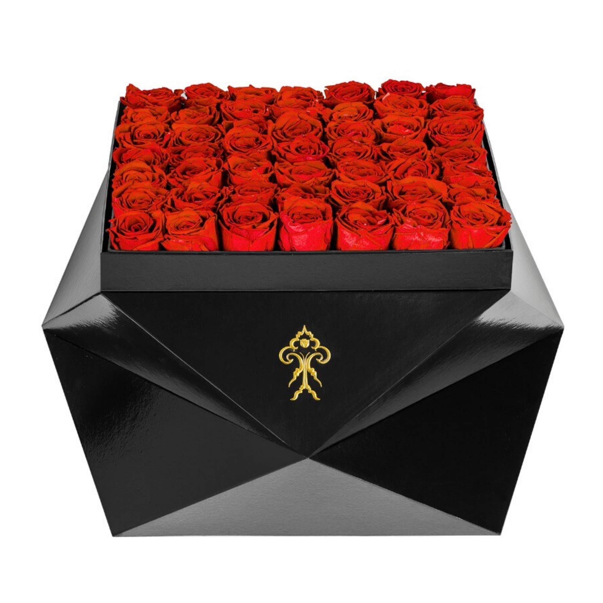 Premium Roses| Real Roses That Last 365 Days | Real Flowers| Roses in a Box (Model Z, Large)
