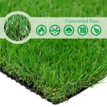 · Petgrow · Realistic Artificial Grass Turf -7FTX15FT(105 Square FT),Indoor Outdoor Garden Lawn Landscape Synthetic Grass Mat - Thick Fake Grass Rug