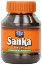 Sanka Instant Coffee Naturally Decaffeinated by Maxwell House, 4 Ounce Jar (2 Pack)