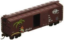 """Bachmann Industries Missouri Pacific """"Herbie"""" AAR Steel Box Car (N Scale), 40'"""
