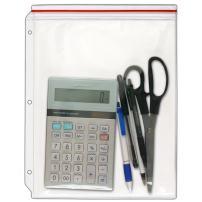 StoreSMART - Supply Zipper Case for 3-Ring Binders - 12-Pack - Vinyl Plastic - VH309-12