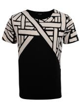 COOFANDY Men's Short Sleeve 3D Printed T Shirt Mesh Tee