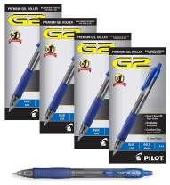 Pilot G2 Retractable Premium Gel Ink Roller Ball Pens Bold Pt (1.) 4 Dozen Boxes, Blue Ink; Retractable, Refillable & Premium Comfort Grip; Smooth Lines to the End of the Page
