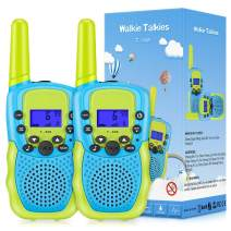 SnowCinda Toys for 3-12 Year Old Boys, Walkie Talkies for Kids with 22 Channels 2 Way Radio 3 Miles Long Range Toy for Outside Adventures,Best Gifts for Boys and Girls Age 3-12