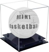 Better Display Cases Acrylic Mini - Miniature (not Full Size) Basketball Display Case