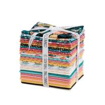 Connecting Threads Print Collection Precut Quilting Fabric Bundle Fat Quarters (Cascade Meadow)