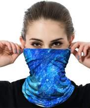 AUDIANO Seamless Face Mask Bandanas Multifunctional Headwear Headband Neck Gaiter