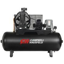 Campbell Hausfeld CE7052 Campbell Hausfeld Air Compressor, 80-Gallon Horizontal Two-Stage 17.2CFM 5HP 208-230V 1PH (CE7052), 80 gallon