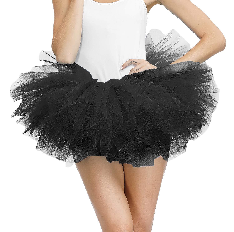 Tulle Tutus for Women Layered Tutu Skirt Adult Teens Bubble Puffy Ballet Skirt