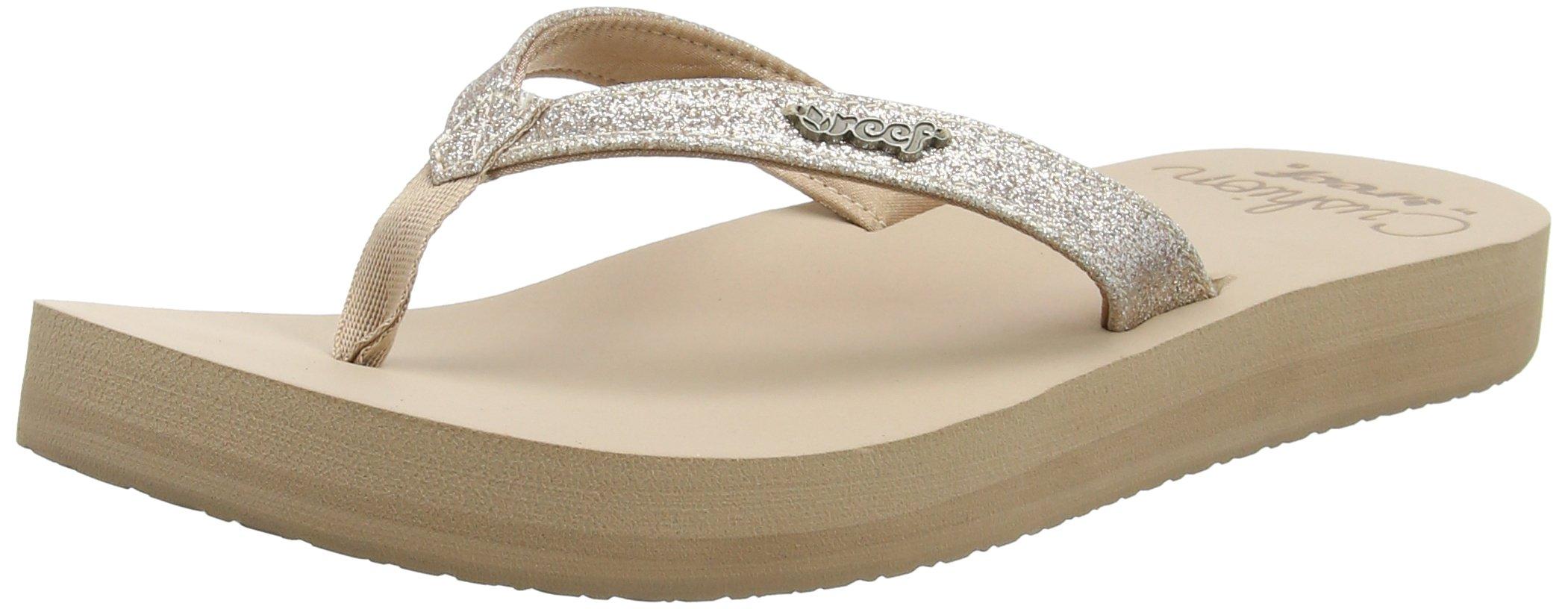 REEF Women's Sandals Star Cushion | Fashion Flip Flops for Women