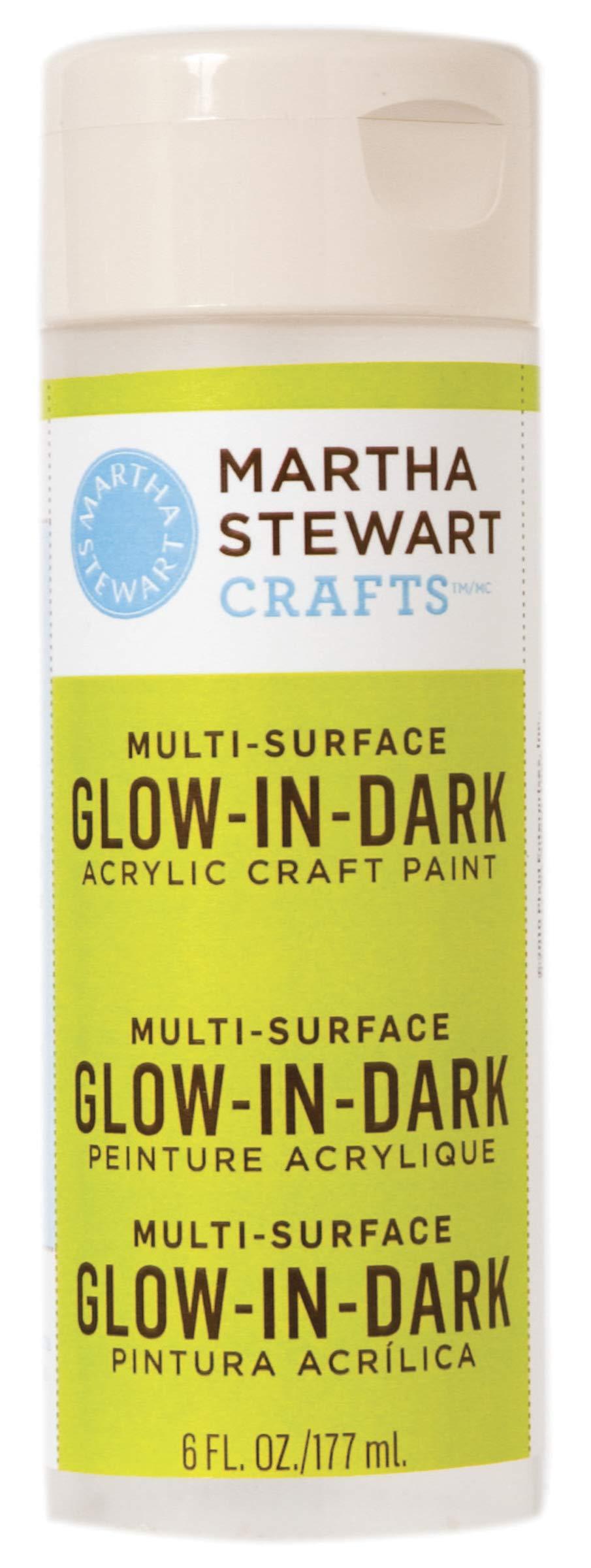 Martha Stewart Crafts Martha Stewart Glow, 6 oz Paint, Dark Yellow