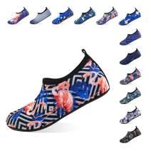 Jjyee Water Shoes for Women and Men Barefoot Quick-Dry Aqua Socks Slip-on for Beach Swim Pool Surf Yoga