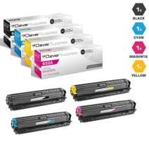 CS Compatible Toner Cartridge Replacement for HP CP5520n CE270A Black CE271A Cyan CE272A Yellow CE273A Magenta HP 650A Color Laserjet M750 CP5520xh Enterprise M750xh CP5525 M750n CP5525dn 4 Color Set