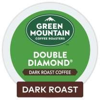 Green Mountain Coffee Roasters Double Diamond, Single-Serve Keurig K-Cup Pods, Dark Roast Coffee, 72 Count