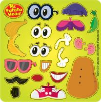Mr Potato Head Make Your Own Spud Stickers - Party Favors - 100 per Pack