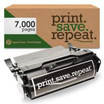Print.Save.Repeat. Lexmark T650A11A Remanufactured Toner Cartridge for T650, T652, T654 [7,000 Pages]