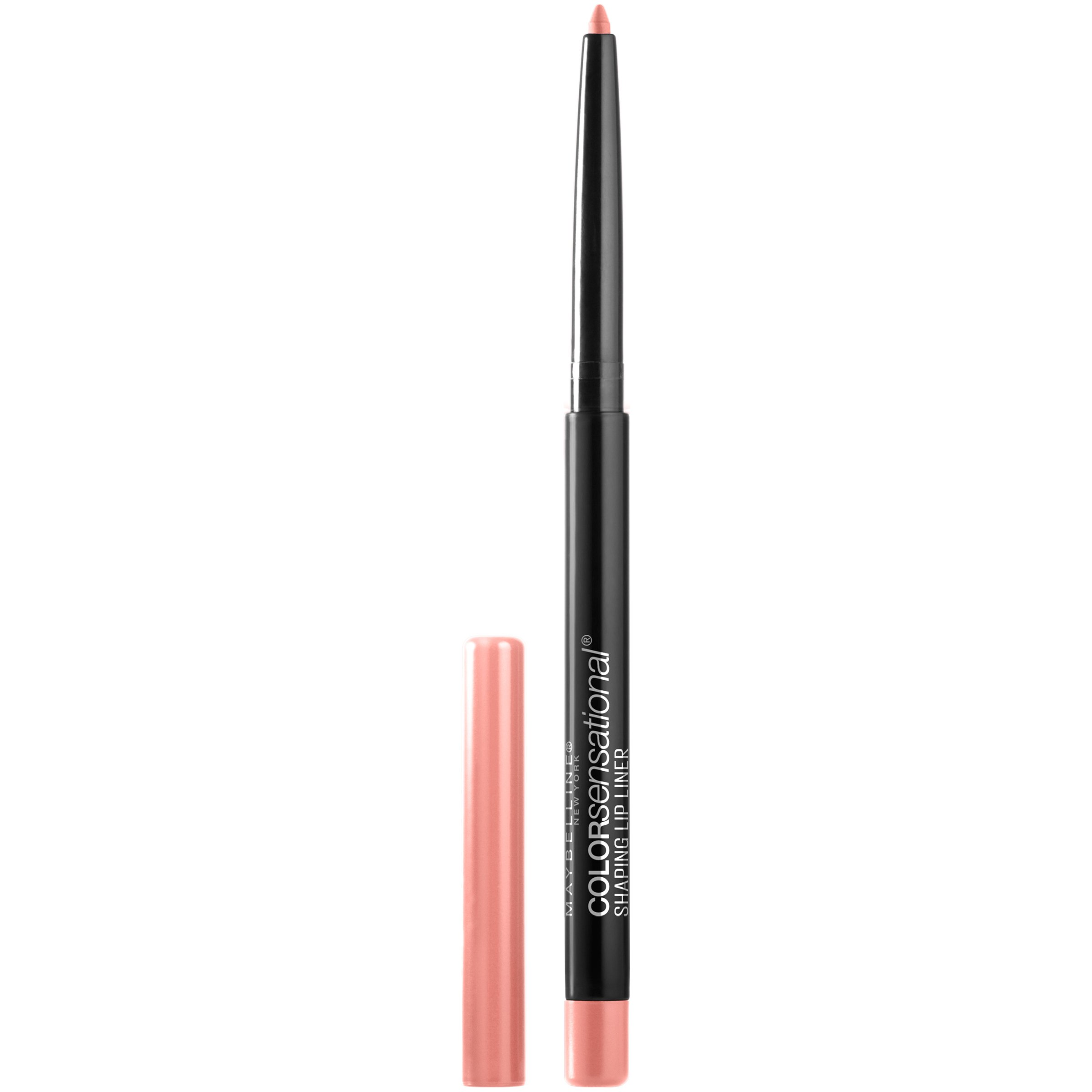 Maybelline New York Makeup Color Sensational Shaping Lip Liner, Purely Nude, Nude Lip Liner, 0.01 oz