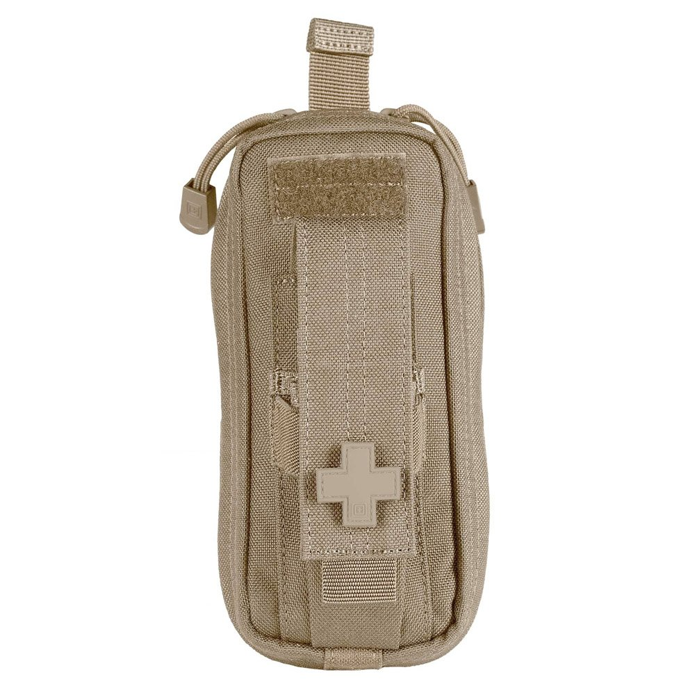 """5.11 Tactical Compact MOLLE Med Pouch, 3""""x 6"""", SlickStick Compatible, Hot-Pull tab, First Aid Pockets, Water Resistant Nylon EDC Kit, Style 56096"""