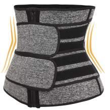 MISS MOLY Waist Trainer for Weight Loss Corset Workout Waist Trimmer Tummy Cinchers Sweat Sauna Sport Girdle Belts