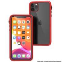 Catalyst - Case for iPhone 11 Pro Max Case with Clear Back, Heavy Duty 10ft Drop Proof, Truss Cushioning System, Rotating Mute Switch Toggle, Compatible with Wireless Charging, Lanyard Included - Red