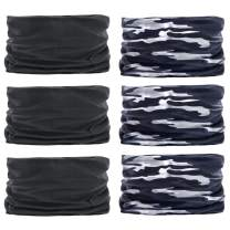 Multifunctional Headwear Bandana Scarf - Outdoors Headwear Neck Gaiters Elastic Headband Bandana Stretchy Headwrap Balaclava for Running Hiking Cycling