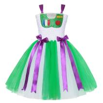 Little Girls Costume Princess Dress Up Halloween Tulle Tutu Dresses