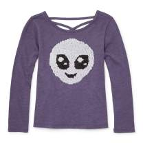 The Children's Place Big Girls Long Sleeve Graphic Tops