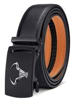 Men's Belt,Bulliant Brand Ratchet Belt Of Genuine Leather For Men Dress,Size Customized