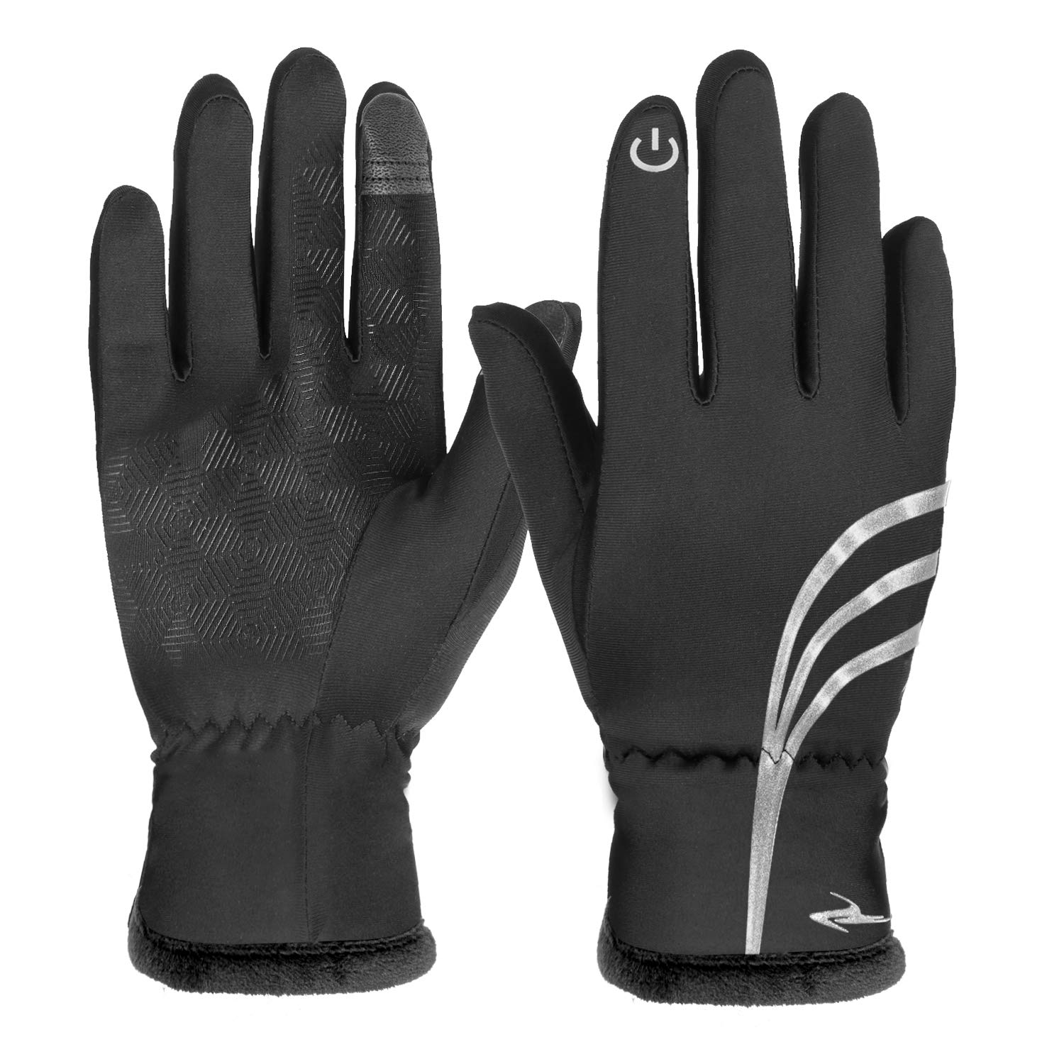 HiCool Winter Gloves for Men Touch Screen Gloves Warm Gloves Running Cycling Gloves