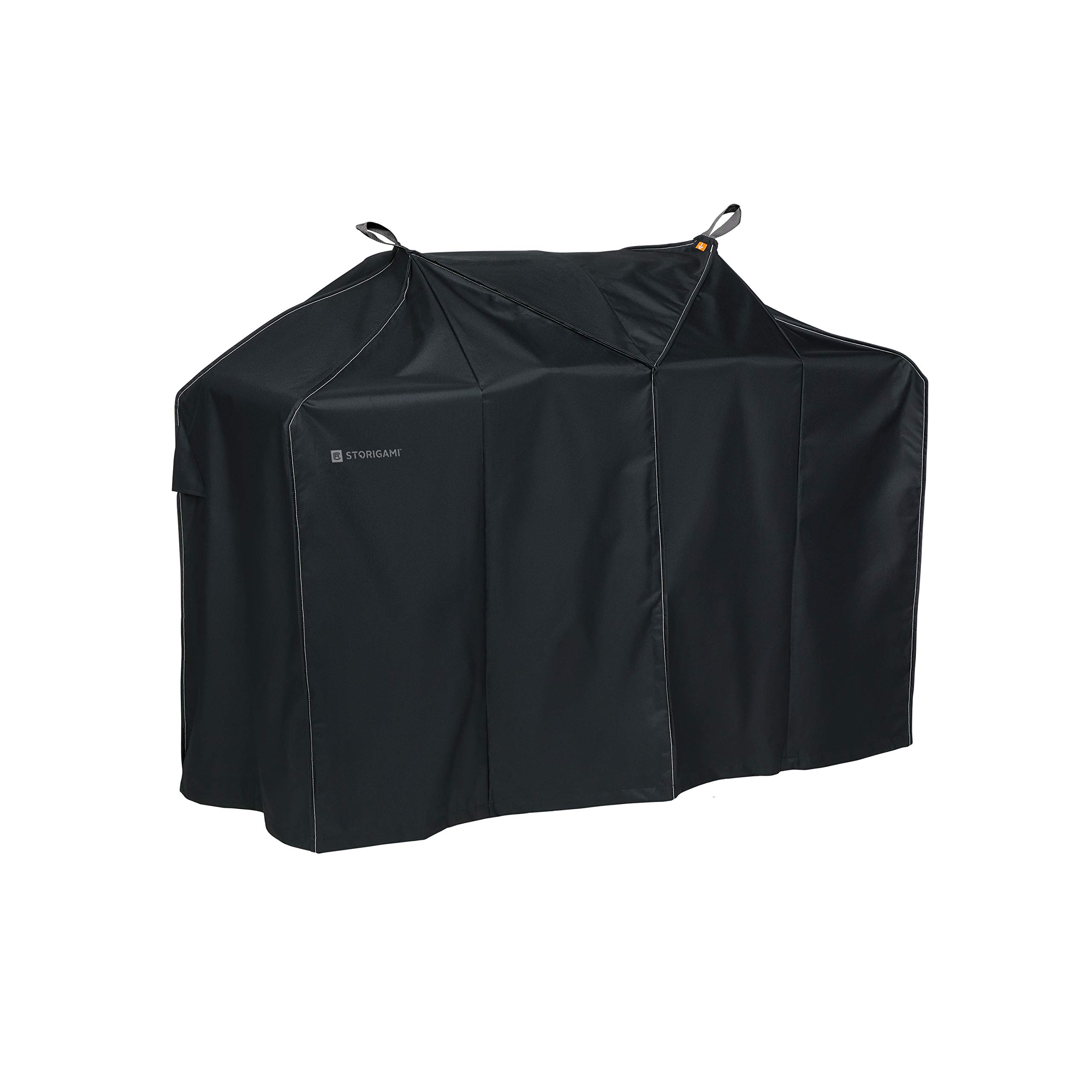 Classic Accessories Storigami Easy Fold Water-Resistant  58 Inch BBQ Grill Cover, Charcoal Black