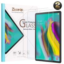 Ztotop Screen Protector for Galaxy Tab S6/S5e 2019 Release, [2 Pack] High Definition/Scratch Resistant 9H Tempered Glass Screen Protector for Samsung Galaxy Tab S6/S5e 2019 Tablet