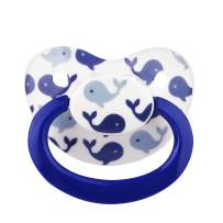 TEN@NIGHT Adult Pacifier Size Dummy ABDL Silicone Pacifier Adult Nipple (White)