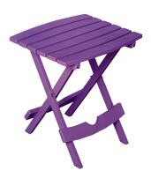 Adams Manufacturing 8500-12-3900 Quik Fold Side Table, Bright Violet
