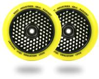 Scooter Wheels 120mm Honeycore - 120mm Scooter Wheels - Honeycomb Scooter Wheels - Pro Scooter Wheels - 24mm x 110mm - Bearings Installed - 90 Day Warranty - Scooter for Kids - Scooter Parts