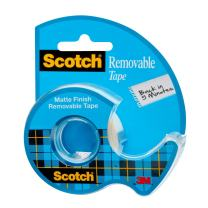 Scotch Removable Tape, Standard Width, Engineered for Office and Home Use, Trusted Favorite, 3/4 x 650 Inches (224)
