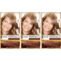 L'Oreal Paris Hair Color Age Perfect By Excellence Layered Tone Flattering Color, 6B Light, 3 Count