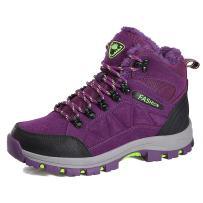 Z.SUO Men Women Unisex Couple Mid Trekking Hiking Boots Outdoor Lightweight Hiker