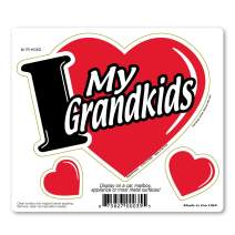 I Love My Grandkids 3-in-1 Magnet