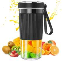 Portable Blender, 300ml BZseed Personal Size Blender Shakes and Smoothies, USB Rechargeable Mini Black Juicer Cup Handheld Fruit Mixer-IP68 Waterproof, BPA Free