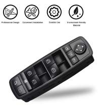 Travay Driver Side Master Power Window Switch Compatible with 2006-2012 Mercedes Benz R350 ML350 GL450 Replacement Window Switch 2518300390