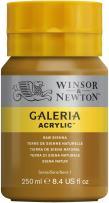 Winsor & Newton Galeria Acrylic Paint, 250ml Bottle, Raw Sienna