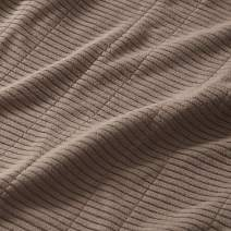 Beautyrest Electric Micro Fleece Luxury Soft Blanket Throw-Secure Comfort Technology-Two 20-Setting Heat Controllers for Bed or Couch-5 Years Warranty, Full, Brown