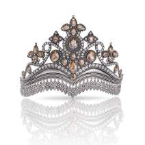 GETNOIVAS Vintage Tiaras and Crowns for Women, Wedding Tiara for Bride, Birthday Costume Pageant Prom Hair Accessories for Women