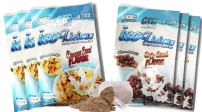 Grassfed Whey Protein Powder. Best Tasting, Low Carb Grass Fed Protein Isolate. Isolicious 6 Serving Variety Pack (3 Coco Cereal Flavor and 3 Cinnamon Cereal Flavor Packets)